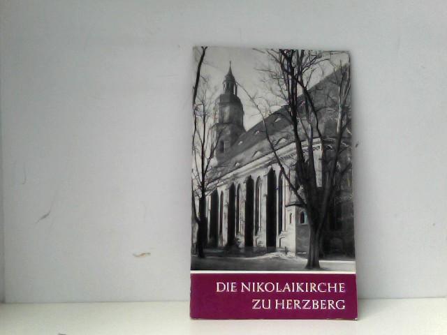 Die Nikolaikirche zu Herzberg.