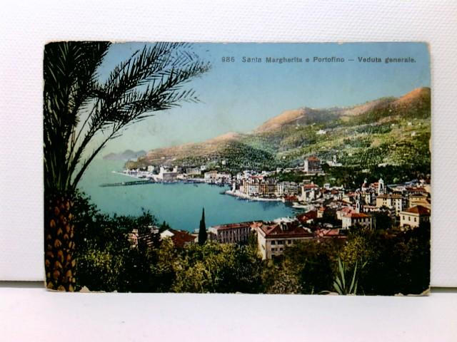 AK Santa Margherita e Portofino - Verduta generale; 1911, coloriert