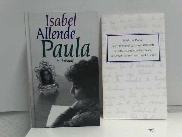 2 Bücher im Paket/Konvolut: Paula, Briefe für Paula