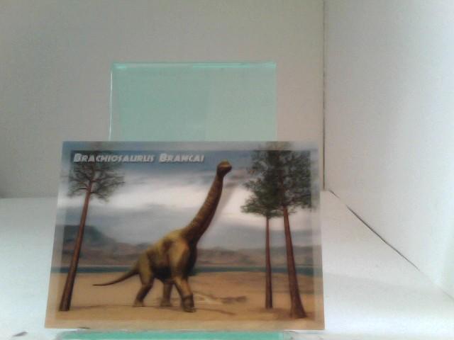 3D Ansichtskarten/ Postkarten Brachiosaurus Brancai