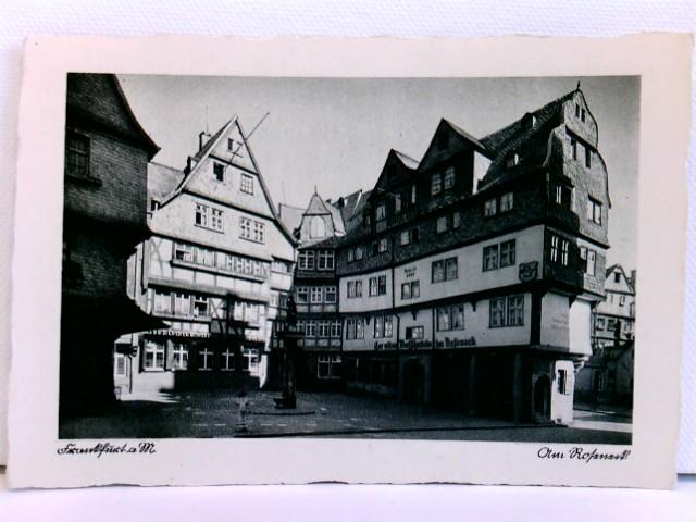AK Frankfurt a. M., Am Roseneck; ca. 1910