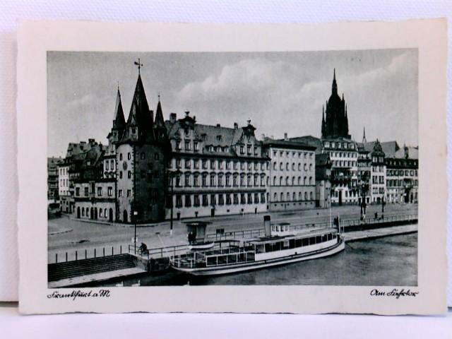 AK Frankfurt a. M., Am Fahrtor; ca. 1910