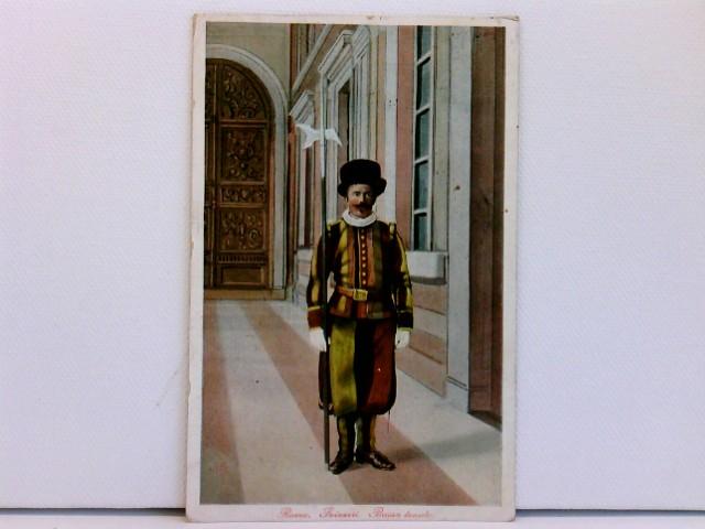 seltene AK Roma - Svizzeri - Bassa tenuta; coloriert, 1914