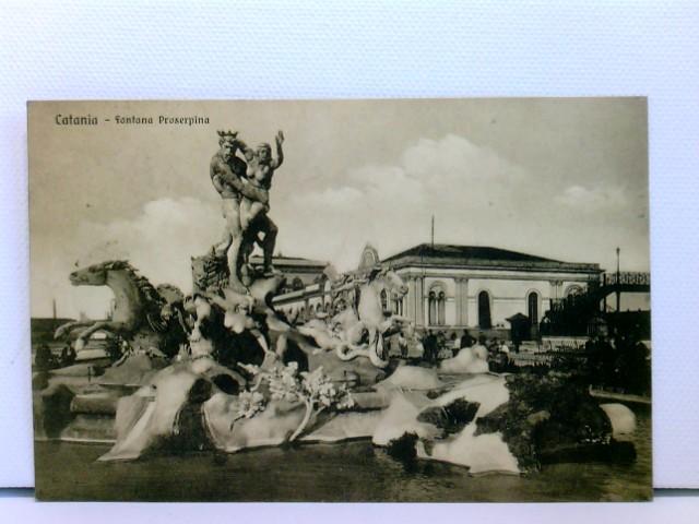 AK Catania - Fontana Proserepina; 1913