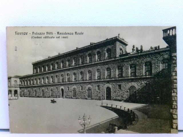 AK Firenze - Palazzo Pitti - Residenza Reale (Credesi edificato nel 1440); 1913