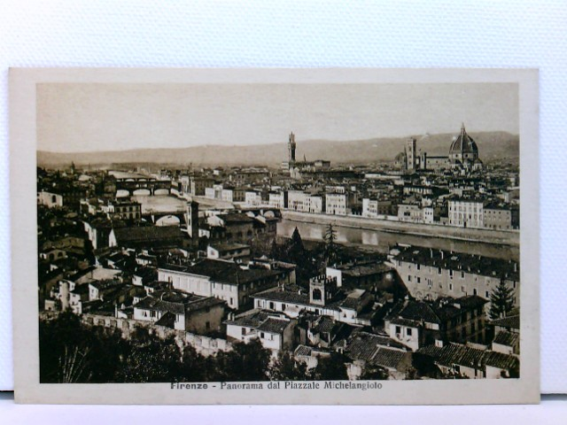 AK Firenze - Panorama dal Piazzale Michelangiolo