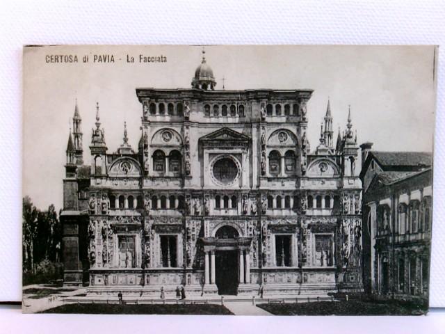 AK Certosa di Pavia - La Facciata; ca. 1910