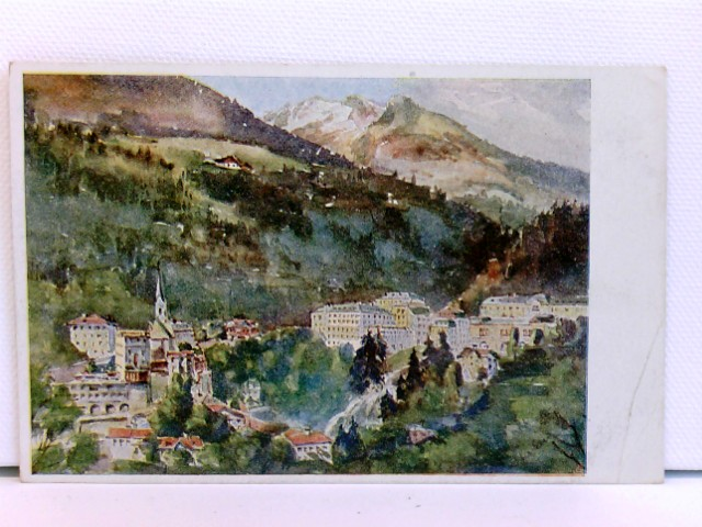 Künstler-AK Bad Gastein; coloriert, ca. 1910