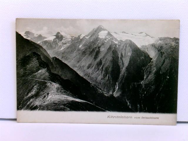 seltene AK Kitzsteinhorn vom Imbachhorn; um 1900