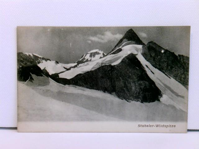 seltene AK Stubaier-Wildspitze; um 1900