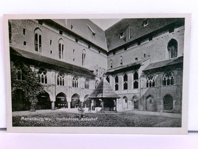 AK Marienburg, Westpreußen, Hochschloss, Kreuzhof; ca. 1915