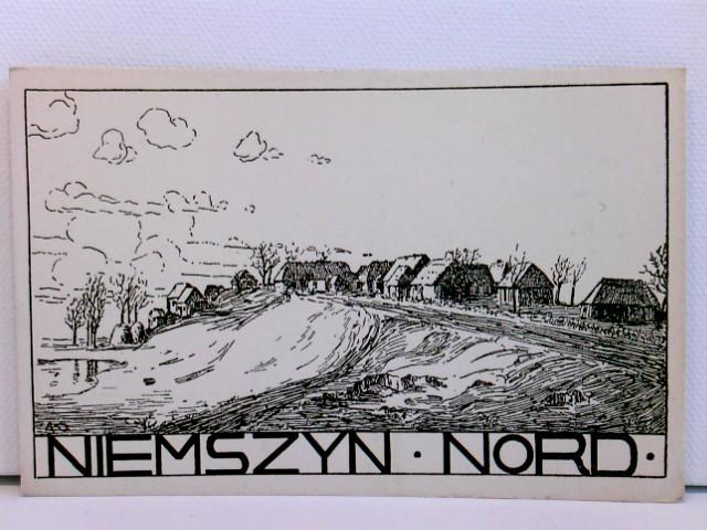 Künstler-AK Niemszyn Nord; ca. 1915, WK 1; Preußen
