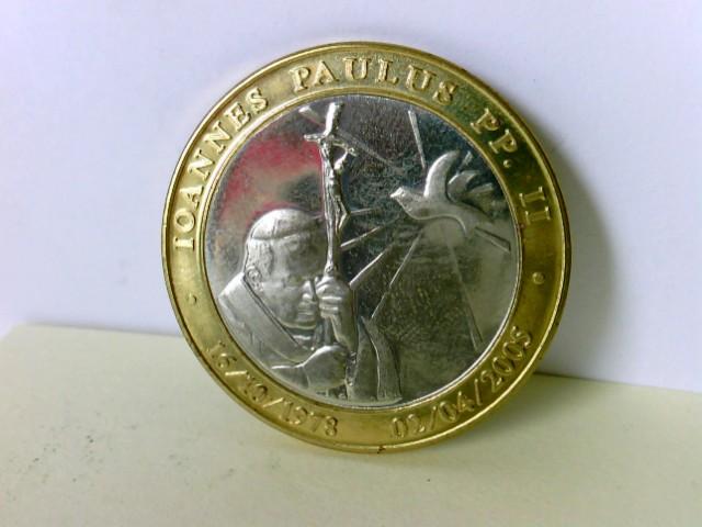 Medaille: Iohannes Paulus PP II, 16/ 10/ 73 - 02/ 04/ 2005 / Giovanni Paolo II Beatifiatione 1° Maggio 2011