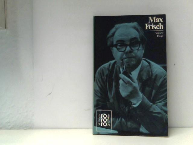 Rowohlt Bildmonographien: Frisch, Max Auflage: Rowohlt TB-V., Rnb.