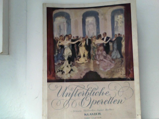 Unsterbliche Operetten