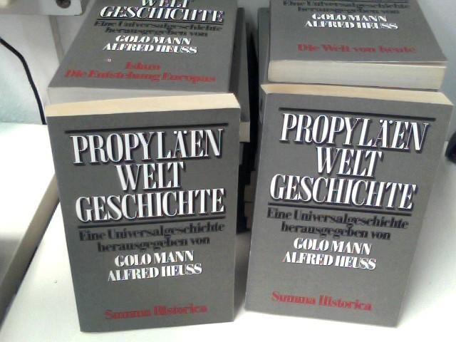 Mann, Golo und Alfred Heuß: Propyläen Weltgeschichte in 11 Bänden zu je 2 Halbbänden