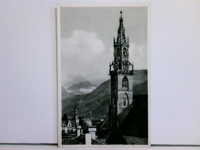 AK Bolzano, Campanile della Chiesa Parrocchiale / Bozen, Der Pfarrturm; ungelaufen