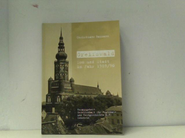 Greifswald Dom und Staft im Jahr 1989/1990ch.