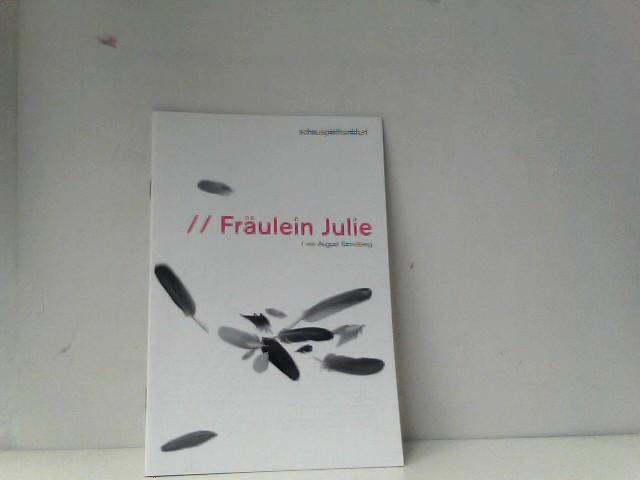 Strindbergg, August: Programmheft Fräulein Julie Schauspiel Frankfurt