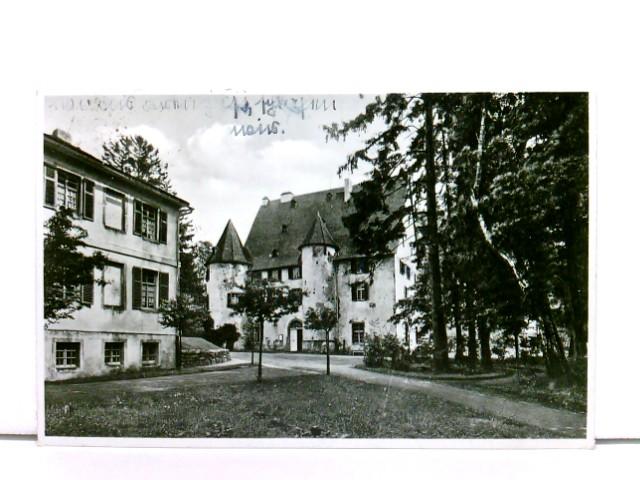 AK Schloß Waldmannshausen, Schullandheim der Oberrealschule Hagen  i.W., Post Dorchheim, Kreis Limburg; 1937