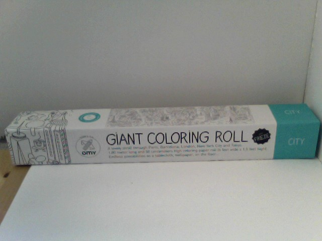 Giant Coloring Roll Medium coloring Page