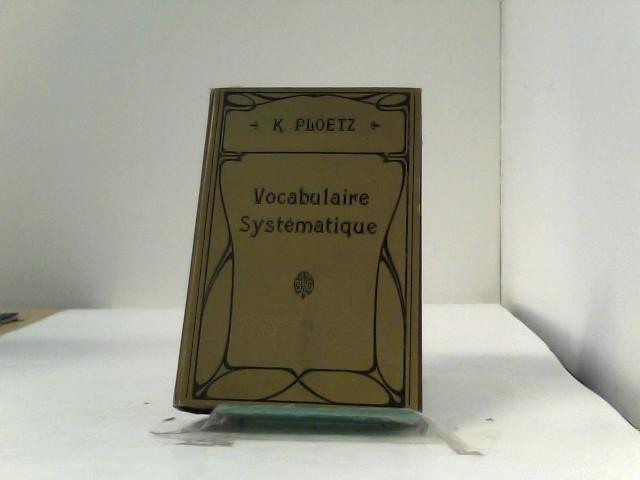 Vocabulaire Systematique