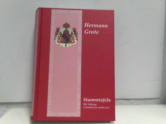 Stammtafeln Mit Anhang: Calendarium medii aevi