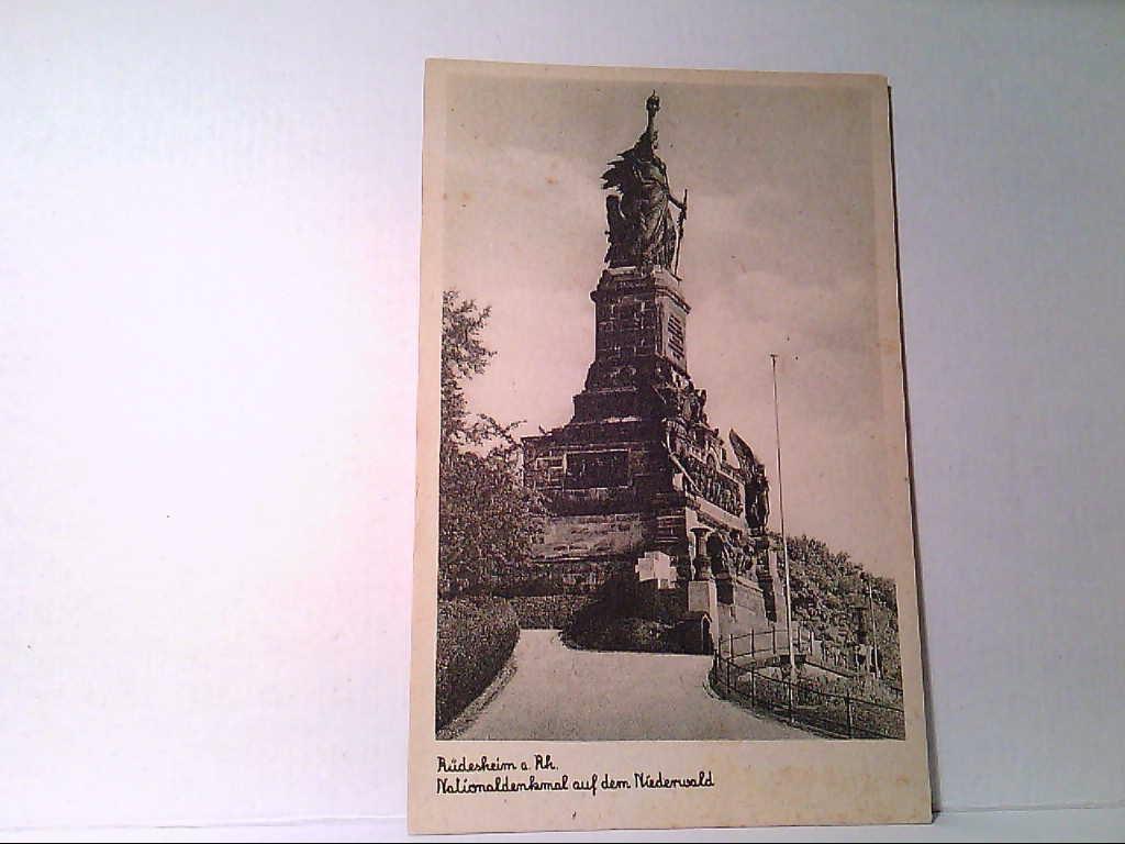 AK Rüdesheim a. Rhein. Nationaldenkmal auf dem Niederwald