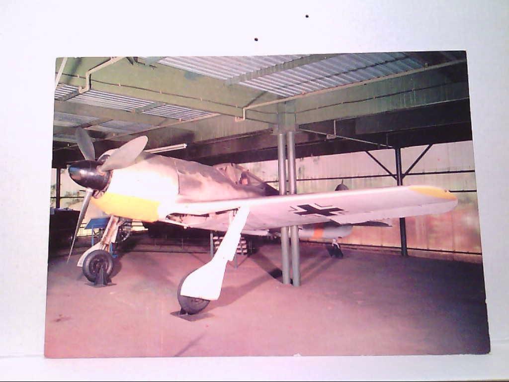 AK Focke Wulf Fw 190 A Germany WW II S.A. National Museum of Military History Johannesburg.