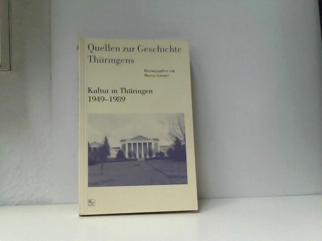 Gärtner, Marcus: Kultur in Thüringen 1949 - 1989