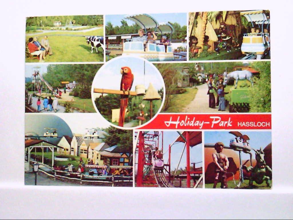 AK Holiday Park Haßloch Pfalz Mehrbildkarte Gelaufen.