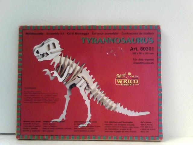 Weico 80301 - Holzbausatz Tyrannosaurus