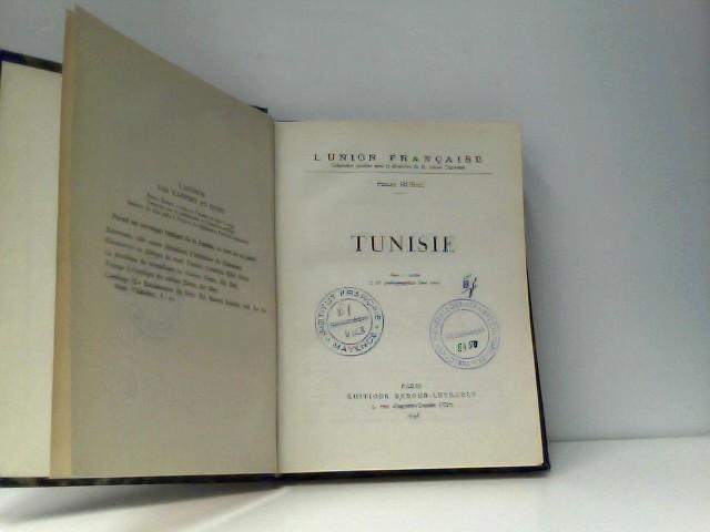 HUBAC Pierre: Tunisie