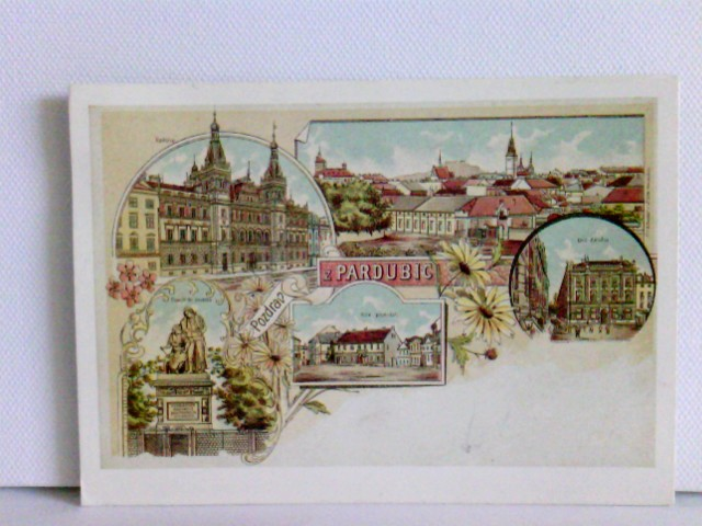 AK Pardubice; Tschechien; Replikat; gelaufen 1997