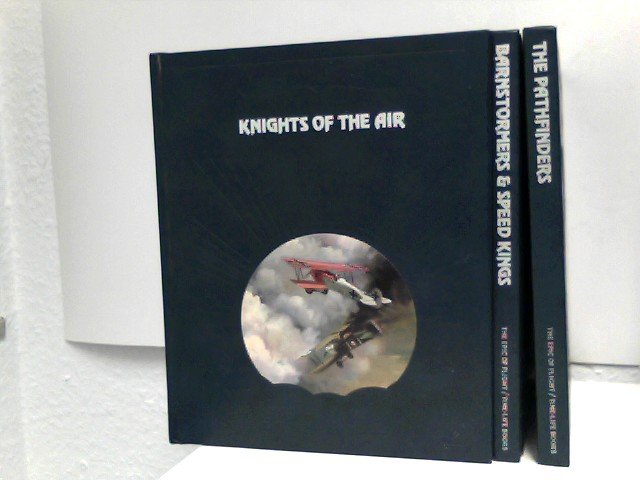 3 Bücher im Paket/Konvolut: Teh Epic of Flight/Time-Life Books: Barnstormers & Speed Kings; The Pathfinders; Knights of the Air