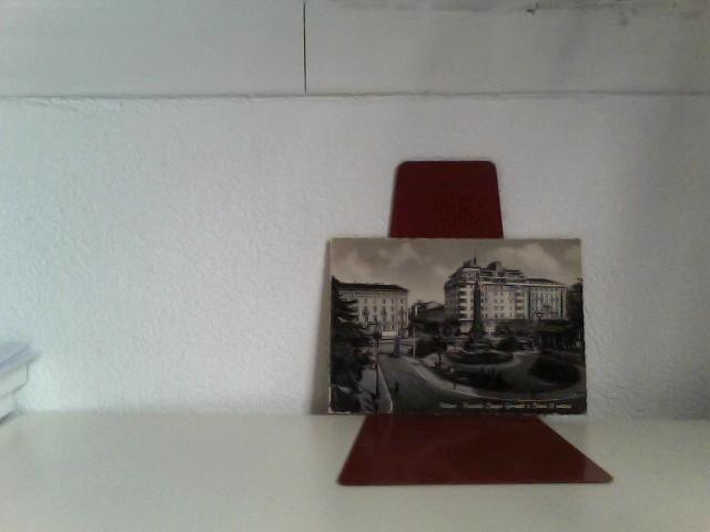 AK Milano/Italien, Platz der 5 Tage und Corso am 22 März, Panorama, Personen, 195?, Gelaufen.