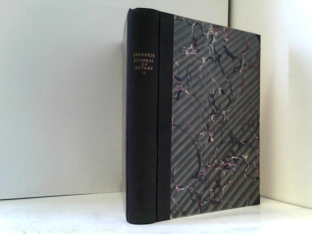 National Research Council of Japan  Japanese Journal of Botany Volume II (1924-1925)