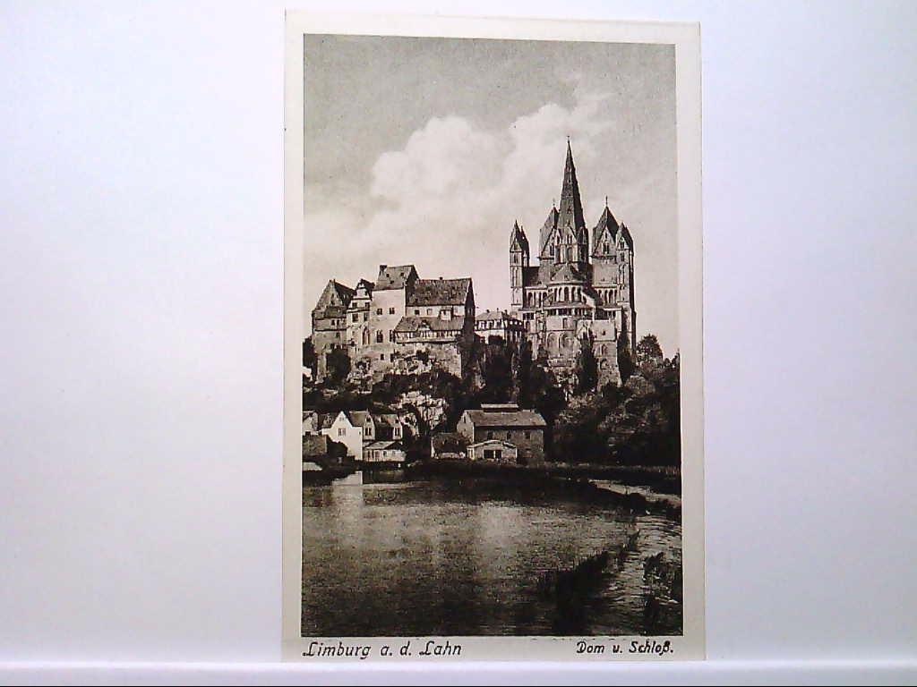 AK Limburg an der Lahn, Dom und Schloß, Gebäudeansicht, Panorama, Ungelaufen.