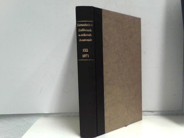 Bargmann, W. (Hrsg.): Zeitschrift für Zellforschung und mikroskopische Anatomie, Band 105