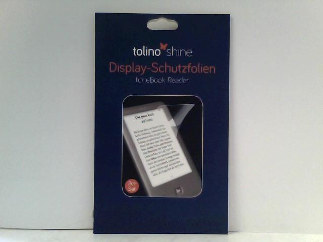 tolino shine Displayschutzfolie, Doppelpack