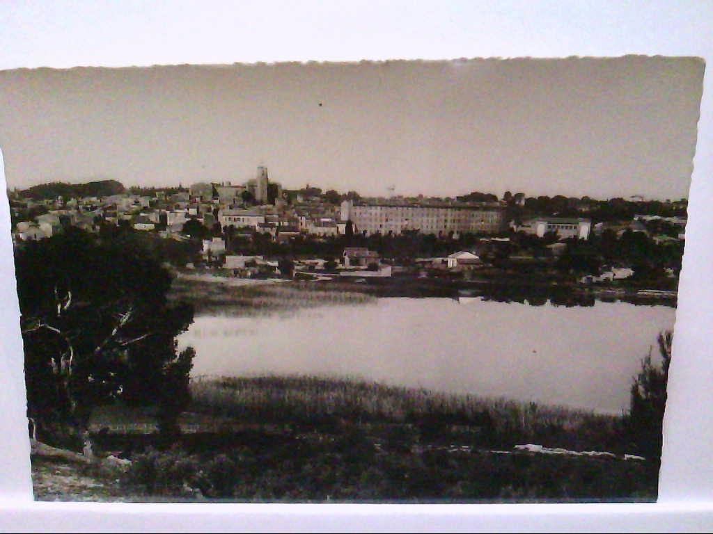 """AK Istres/Frankreich, """" B - du - R """", Vue Générale, Panorama, mit Ortansicht, Echt Foto, Ungelaufen."""