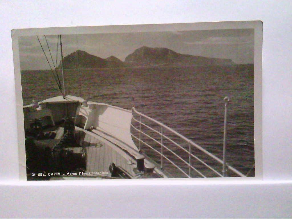 AK Capri / Italien, Capri - Verso l