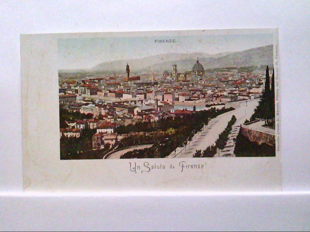AK Firenze / Italien, Un Salute da Firenze.