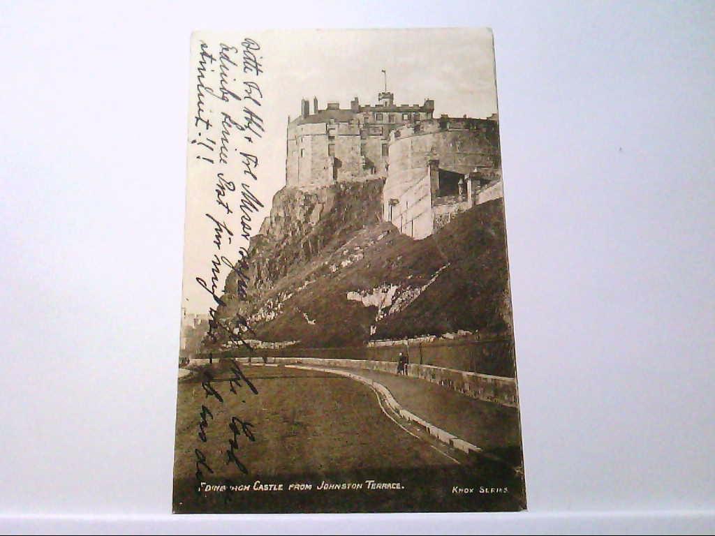 AK Edinburgh / England, Edinburgh Castle from Johnston Terrace.