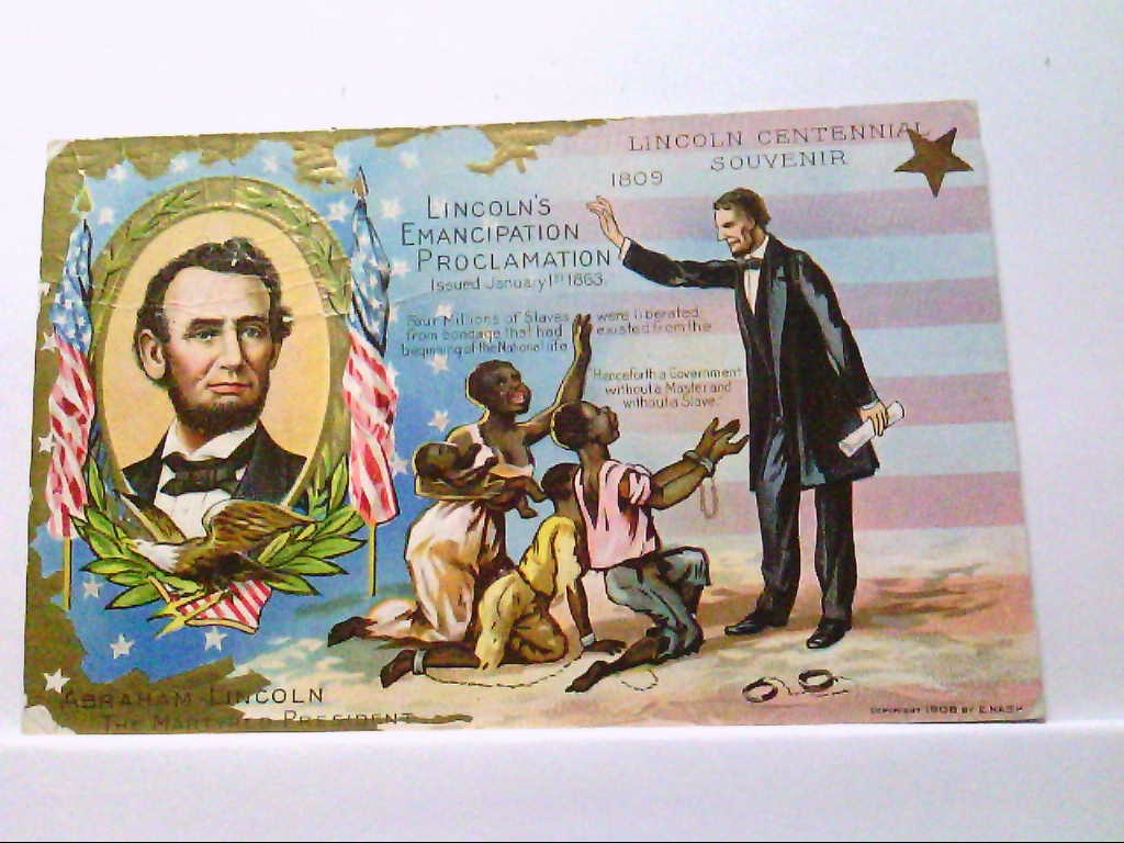 AK Lincoln Centennial Souvenir, Abraham Lincolm, Lincolns Birthday, Serie No.1.