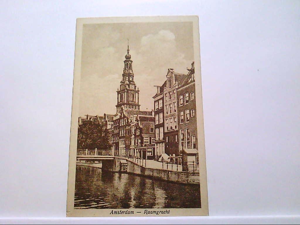 AK Amsterdam / Niederlande, Raamgracht.
