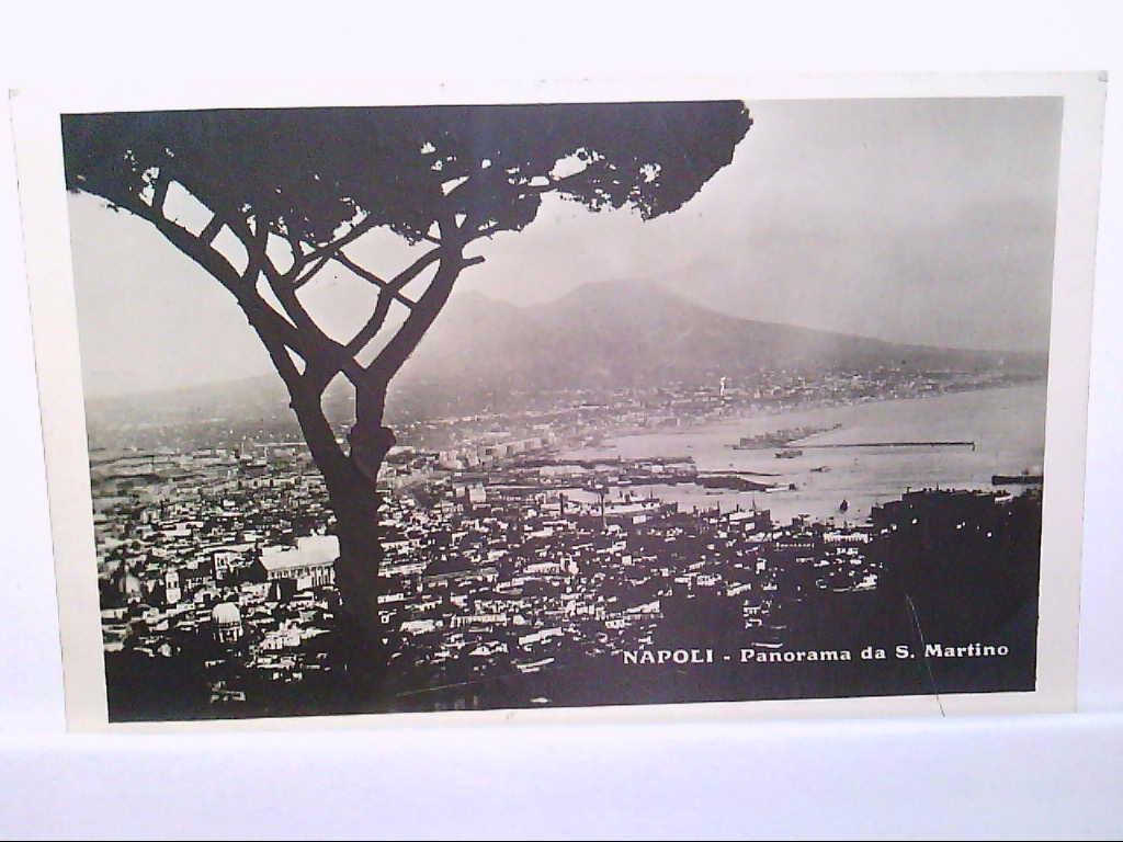AK Napoli / Neapel / Italien, Panorama da S.Martino.