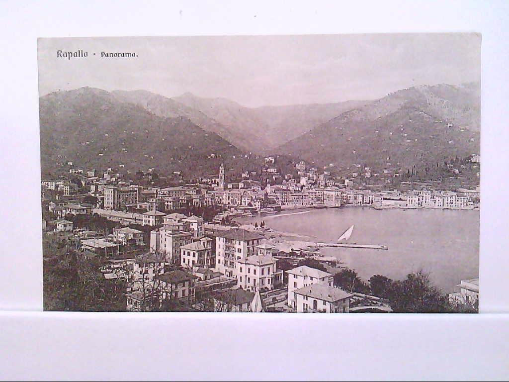 AK Rappallo / Italien, Panorama.