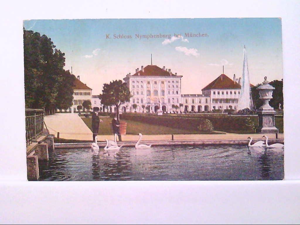 AK München - K.Schloss Nymphenburg.