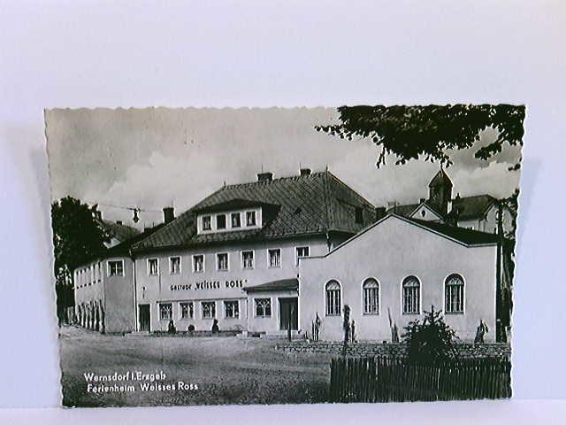 AK Wernsdorf Erzgeb., Ferienheim Weisses Ross; gelaufen ca. 1960